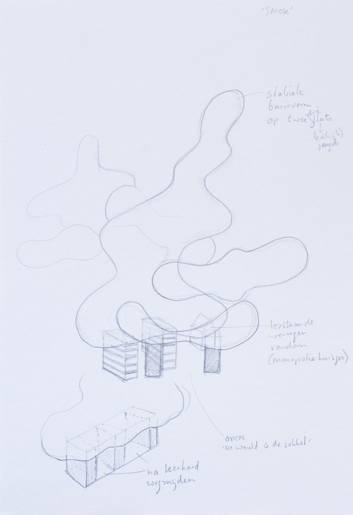 Wolken 1 ontwerpconstructie-d